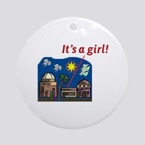 It's a Girl! -  Ornament (Round)