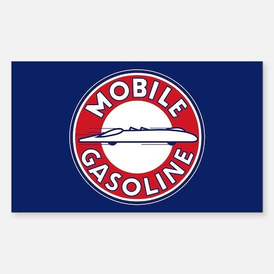 Mobile Gasoline Sticker (Rectangle)