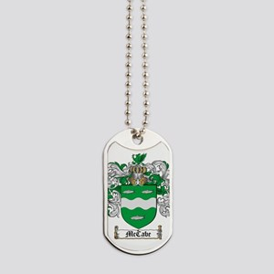 McCabe Family Crest - coat of arms Dog Tags