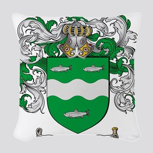 McCabe Family Crest - coat of arms Woven Throw Pil