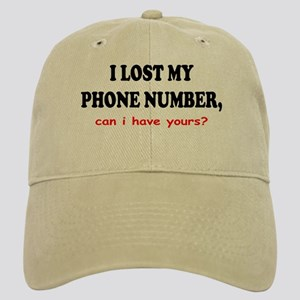 I Lost Phone Number Can I Have Your's Cap