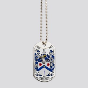 McClure Family Crest - coat of arms Dog Tags