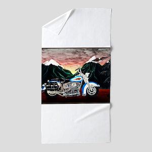 Motorcycle Dream Beach Towel