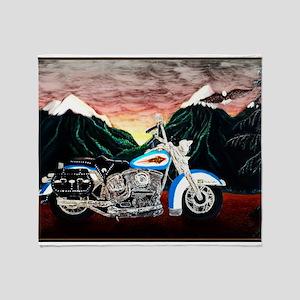Motorcycle Dream Throw Blanket