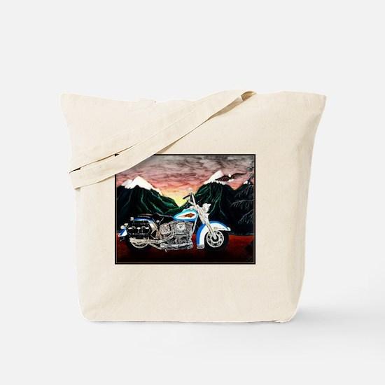 Motorcycle Dream Tote Bag