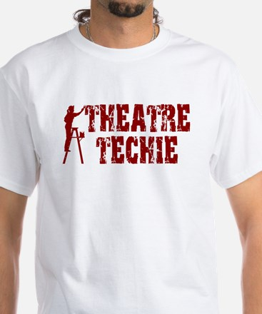 Stage Tech 1 White T-Shirt