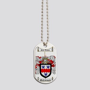 McCormack Family Crest - coat of arms Dog Tags