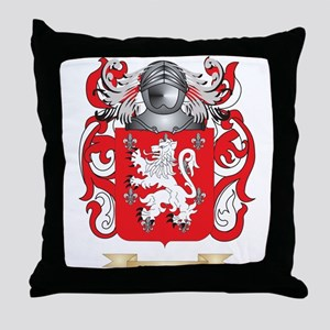 Covarrubias Coat of Arms Throw Pillow