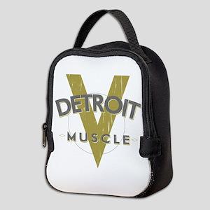 Detroit Muscle Neoprene Lunch Bag