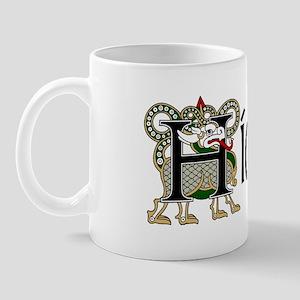 Hickey Celtic Dragon Mug