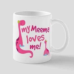 My Meema Loves Me Mug