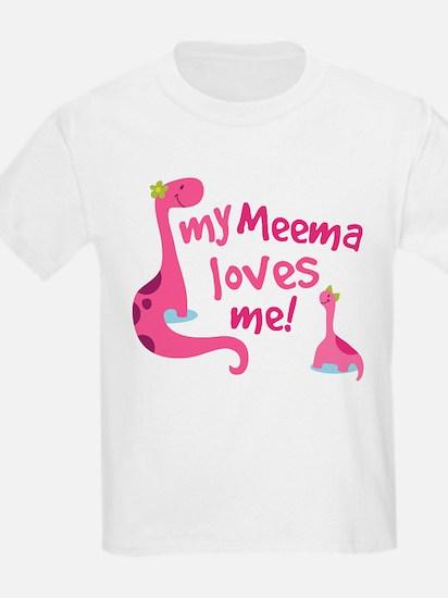 My Meema Loves Me T-Shirt