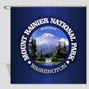 Mt Rainier NP Shower Curtain