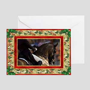 Dressage Horse Christmas Greeting Card
