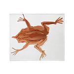 Surinam toad f Throw Blanket
