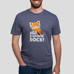 Red Pandas Shirt - Red Pand Mens Tri-blend T-Shirt