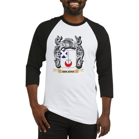 Holiday Coat of Arms - Family Cres Baseball Jersey