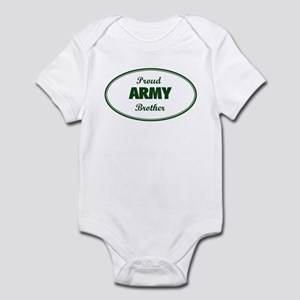 Proud Army Brother Infant Bodysuit