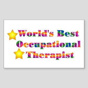 World's Best OT Rectangle Sticker
