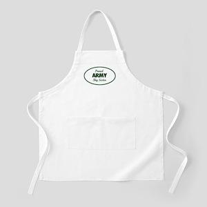 Proud Army Big Sister BBQ Apron