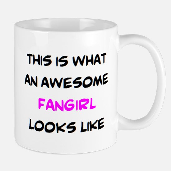 awesome fangirl Mug