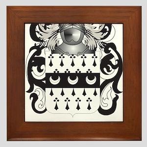 Craig (Scotland) Coat of Arms Framed Tile