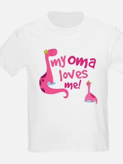 My Oma Loves Me T-Shirt