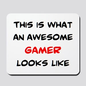 awesome gamer Mousepad