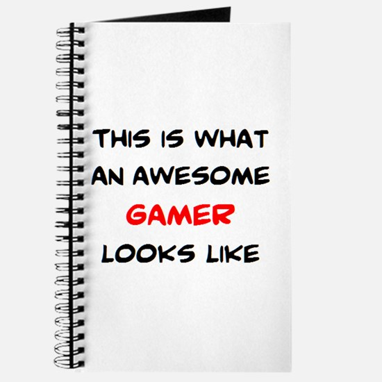 awesome gamer Journal