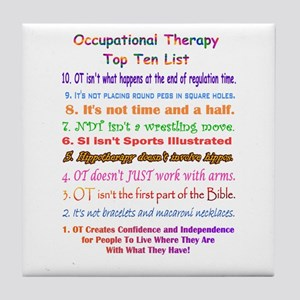 What is OT Top 10 Tile Coaster