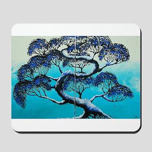 Blue Bonsai Serenity Mousepad