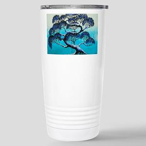 Blue Bonsai Serenity Stainless Steel Travel Mug