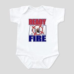 Ready Aim Fire - Bin Laden Infant Bodysuit