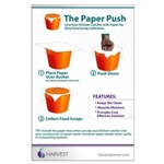 The Paper Push - Large Poster