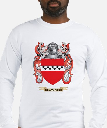 Crawford Coat of Arms Long Sleeve T-Shirt