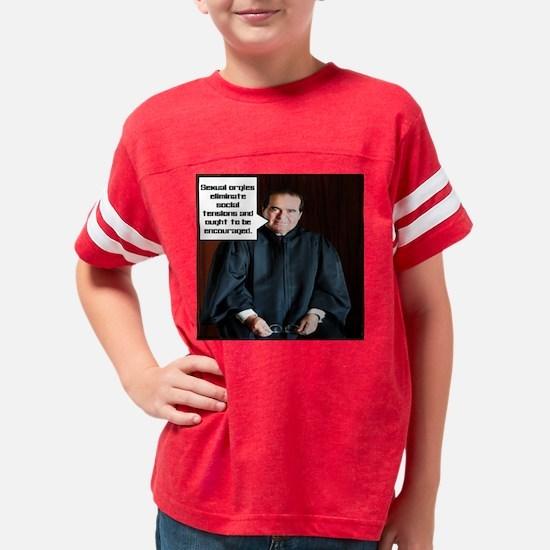 SexualOrgiesWt Youth Football Shirt