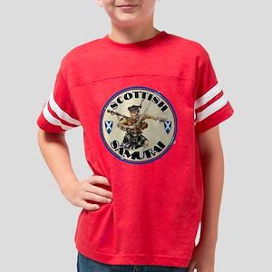 the scottish samurai Youth Football Shirt