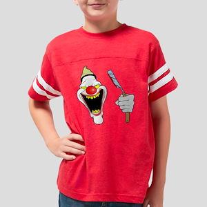 clown-2black copy Youth Football Shirt