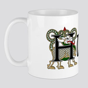 Hunter Celtic Dragon Mug