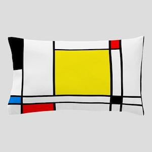 Mondrian Lines Pillow Case