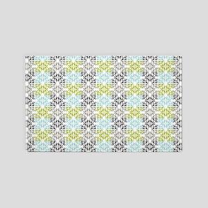 geometric chic damask pattern 3'x5' Area Rug