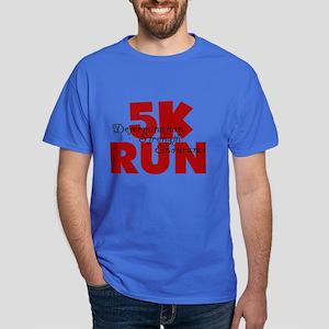 5K Run Red Dark T-Shirt