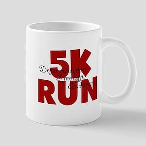 5K Run Red Mug