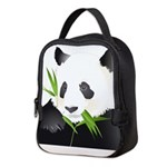 Panda Bear Neoprene Lunch Bag