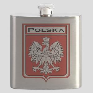 Polska Shield / Poland Shield Flask