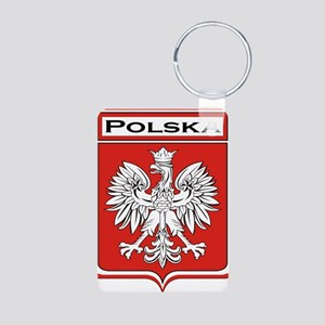 Polska Shield / Poland Shield Aluminum Photo Keych