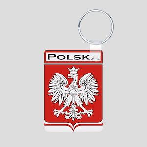 Polska Shield / Poland Shield Aluminum Photo Keych