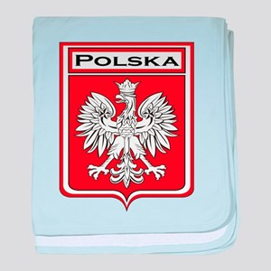 Polska Shield / Poland Shield baby blanket