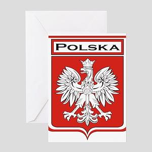 Polska Shield / Poland Shield Greeting Card