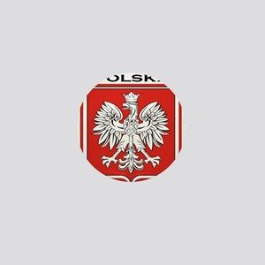 Polska Shield / Poland Shield Mini Button